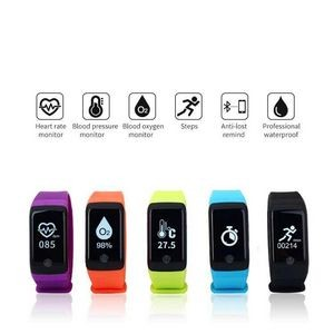 Motion Wristband w/ Blood Pressure Monitor